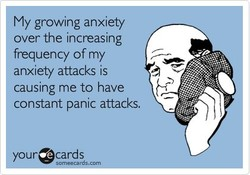 My growing anxiety 
