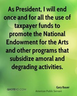 As President, I will end 