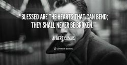 *'BLESSED ARE THE BEND; 
