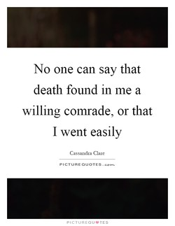 No one can say that