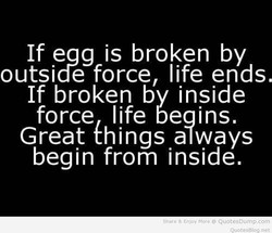 If eag is broken by 