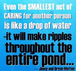 Even the SMALLEST act of 