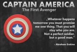 CAPTA'N AMERICA The First Avenger thing. will stay a m Not a