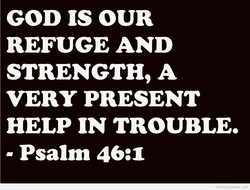 GOD IS OUR 
