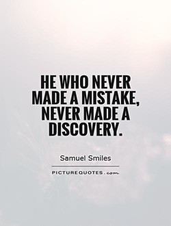 HE WHO NEVER 