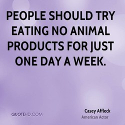 PEOPLE SHOULD TRY 