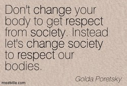 Donit change your 