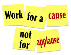 Work fora cause 