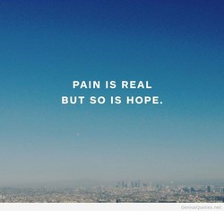 PAIN IS REAL 
