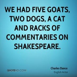 WE HAD FIVE GOATS, 