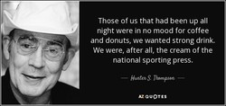 Those of us that had been up all 