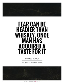 FEAR CAN BE 
