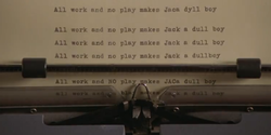 All work end no play makes Jaca dy11 boy 