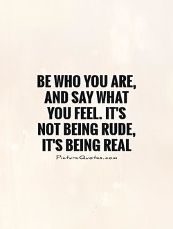 BE WHO VOU ARE, 