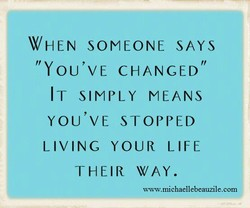WHEN SOMEONE SAYS 