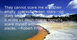They cannot scare me WI their 