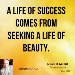 A LIFE OF SUCCESS 