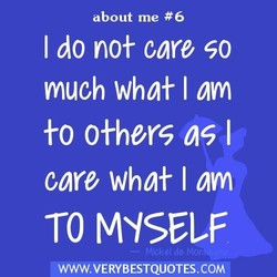 about me #6