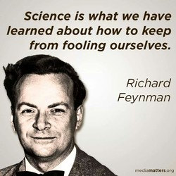 Science is what we have 