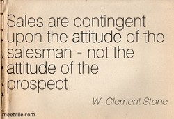 Sales are contingent 