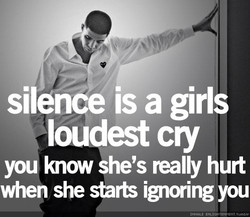 silence is a girls 