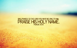 PRASES TO YOU TO w; 