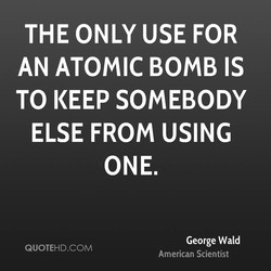 THE ONLY USE FOR 