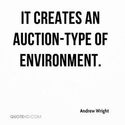 IT CREATES AN 