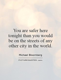 You are safer here 