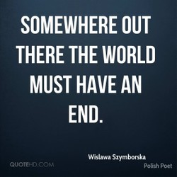 SOMEWHERE OUT 