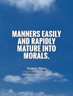 MANNERS EASILY 