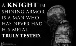 A KNIGHT IN 