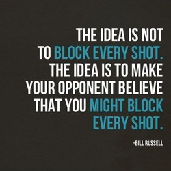 THE IDEA IS NOT 