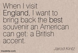 When I visit 