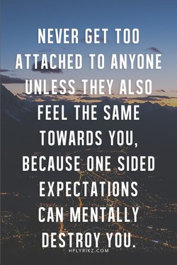 NEVER GET TOO 