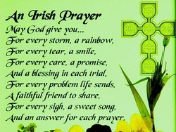 An qrish Prayer 