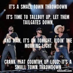 IT'S A THROWDOWN 