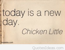today is a new 