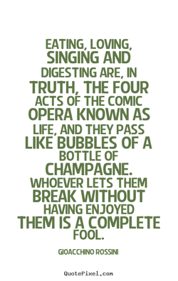 EATING. LOVING. 
