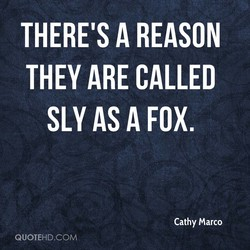 THERE'S A REASON 