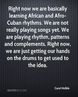 Right now we are basically 