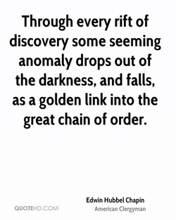 Through every rift of 
