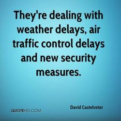 They're dealing with 
