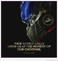 FATE RARELY CALLS 