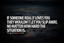 IF SOMEONE REALLY LOVESYOU 
