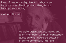 Learn from yesterday, live for today, hope 