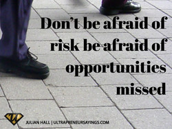 on't be afraid O 