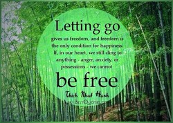 Letting go g 