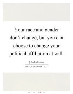 Your race and gender 