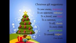 Cluistmas gift suggestions: 